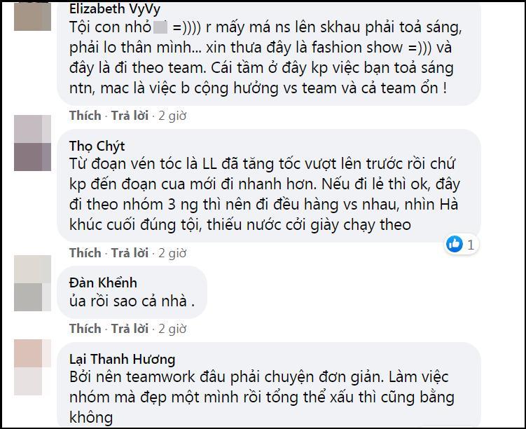 Lương Thùy Linh - Trần Tiểu Vy - Đỗ Thị Hà gây tranh cãi với màn catwalk thảm họa-8