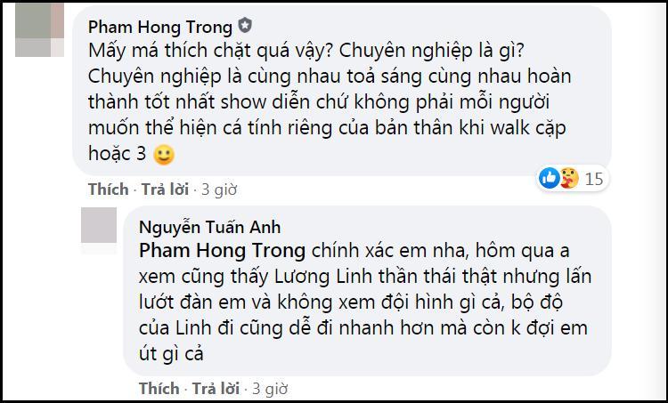 Lương Thùy Linh - Trần Tiểu Vy - Đỗ Thị Hà gây tranh cãi với màn catwalk thảm họa-9