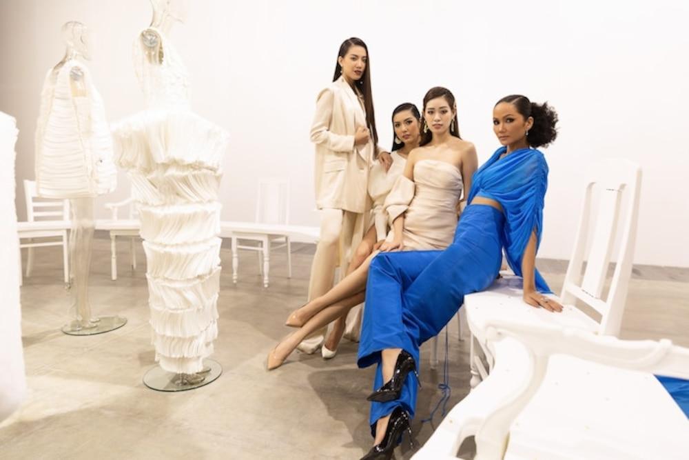 Đụng váy Hoa hậu Khánh Vân, Á hậu Ngọc Thảo thua toàn tập vì tạo dáng mờ nhạt-4