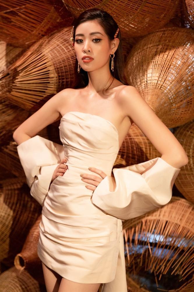 Đụng váy Hoa hậu Khánh Vân, Á hậu Ngọc Thảo thua toàn tập vì tạo dáng mờ nhạt-6