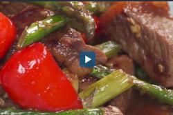 Công thức nấu thịt bò xào tỏi ớt