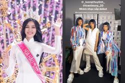 Hoa hậu Đỗ Thị Hà tiếp tục lộ bằng chứng không thể cao 1m75