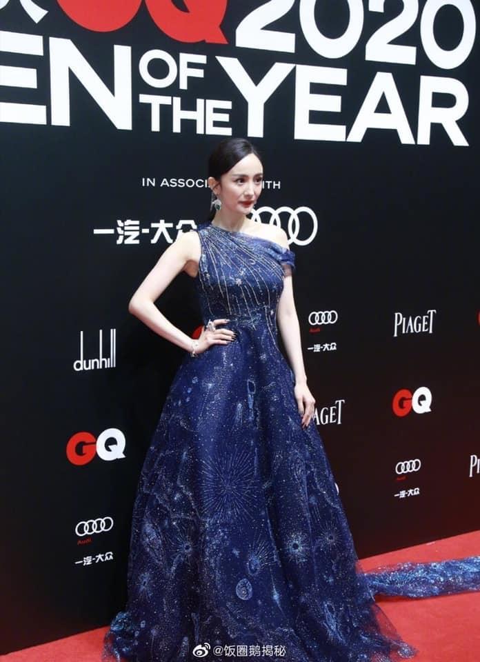 Siêu thảm đỏ GQ 2020: Dương Mịch bị chê lão hóa, Thái Từ Khôn đẹp như đồ họa-8