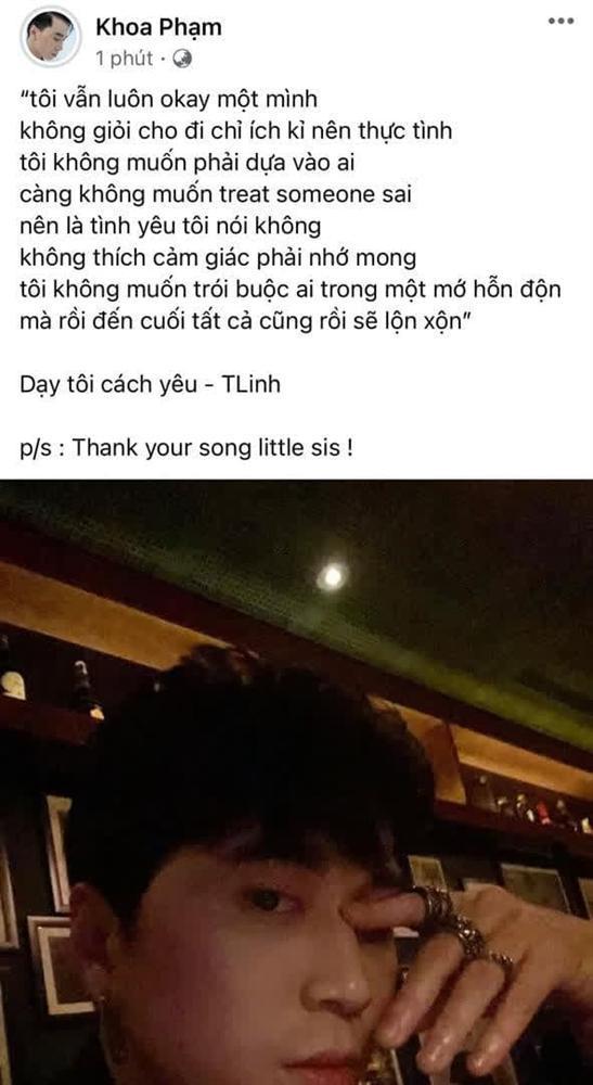 Giữa lúc đang dự AVIFW, Karik đăng ảnh so deep, còn mượn lyrics của Tlinh để... học cách yêu là sao?-1