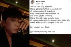 Giữa lúc đang dự AVIFW, Karik đăng ảnh 'so deep', còn mượn lyrics của Tlinh để... học cách yêu là sao?