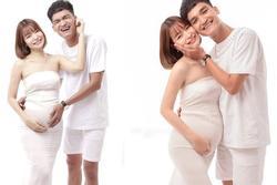Vợ chồng Mạc Văn Khoa đón con gái đầu lòng sớm 1 tháng
