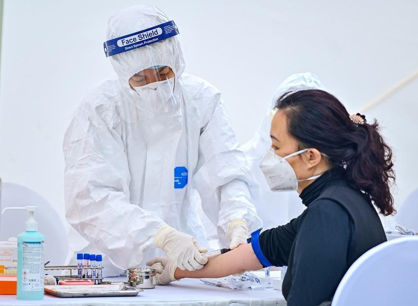 Một người ở Hà Nội tái dương tính với SARS-CoV-2-1