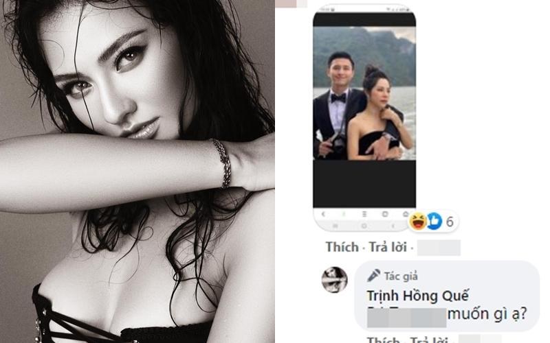 Hồng Quế phản ứng khi bị hỏi xoáy chuyện tình mới của Huỳnh Anh-2