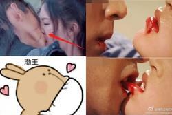 Những cảnh hôn mất thẩm mỹ trên màn ảnh Hoa ngữ