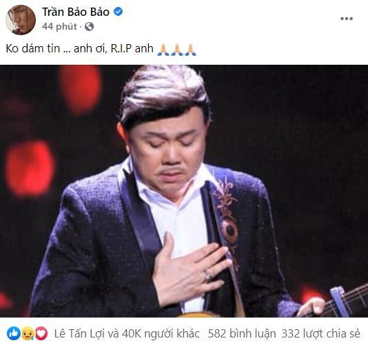 Midu cùng loạt hot girl - hot boy Việt gục ngã nghe tin nghệ sĩ Chí Tài qua đời-2