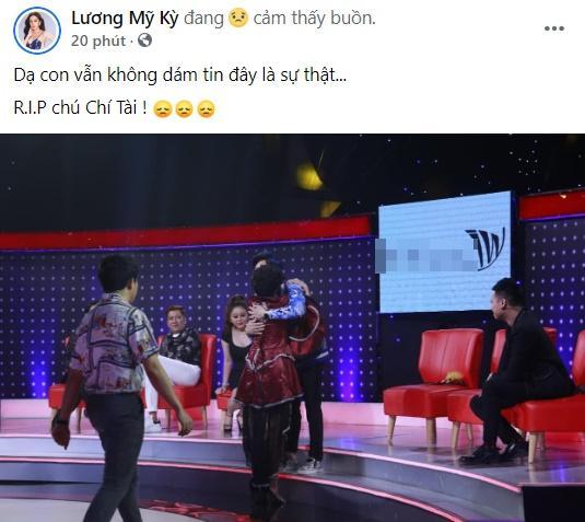 Midu cùng loạt hot girl - hot boy Việt gục ngã nghe tin nghệ sĩ Chí Tài qua đời-7