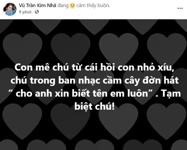 Midu cùng loạt hot girl - hot boy Việt gục ngã nghe tin nghệ sĩ Chí Tài qua đời-6