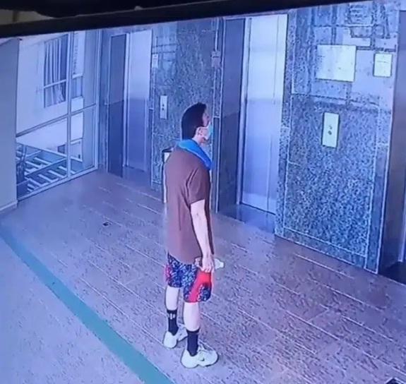 Hình ảnh cuối cùng của nghệ sĩ Chí Tài được trích xuất từ CCTV khu chung cư-1