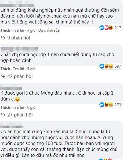 Hot girl Linh Miu ăn đá tảng khi viết chúc mừng sự ra đi của nghệ sĩ Chí Tài-2