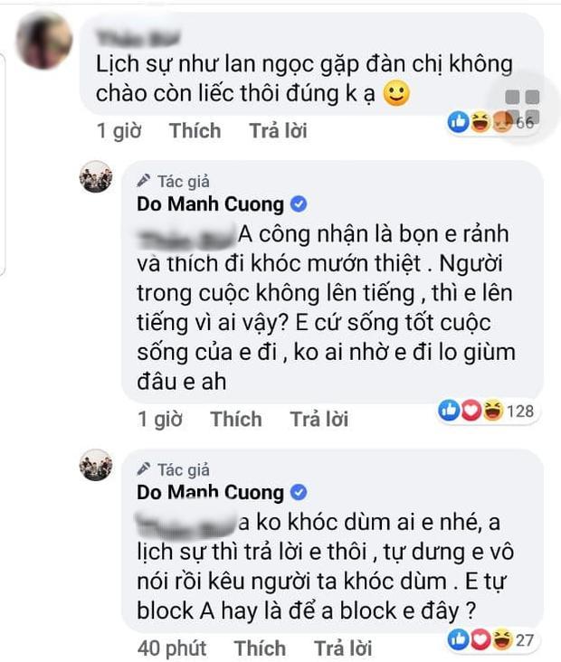 Anti-fan cà khịa Ninh Dương Lan Ngọc, NTK Đỗ Mạnh Cường lên tiếng cực gắt-1