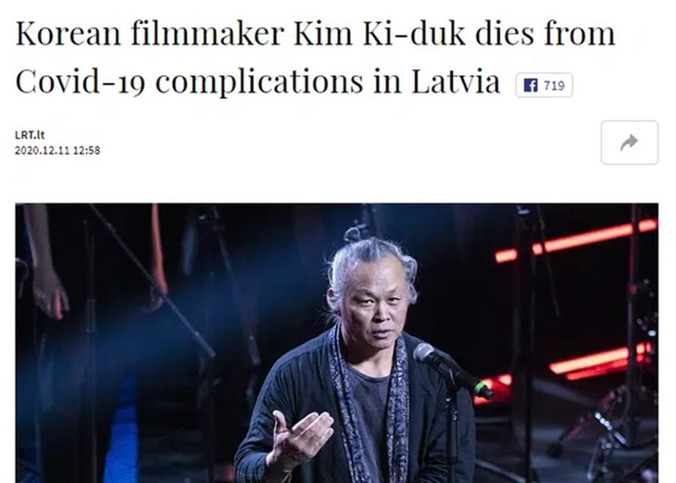 Đạo diễn cưỡng dâm Kim Ki Duk qua đời vì Covid-19 trên đất khách-1