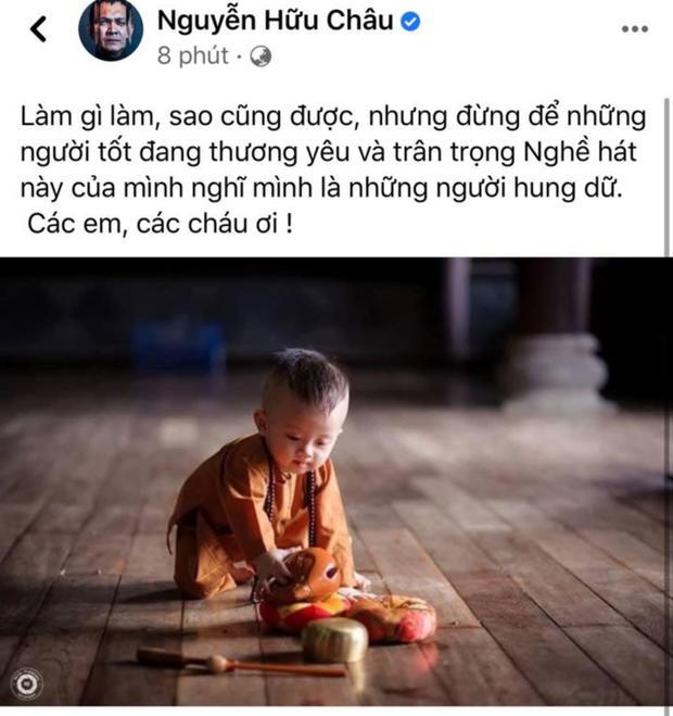 Dàn sao đòi xử gymer xúc phạm vợ Chí Tài, nghệ sĩ Hữu Châu dặn dò thấm thía-2