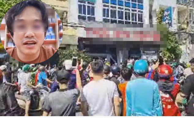 Người dân vây kín nơi làm việc của nam gymer phát ngôn xàm về Chí Tài-5