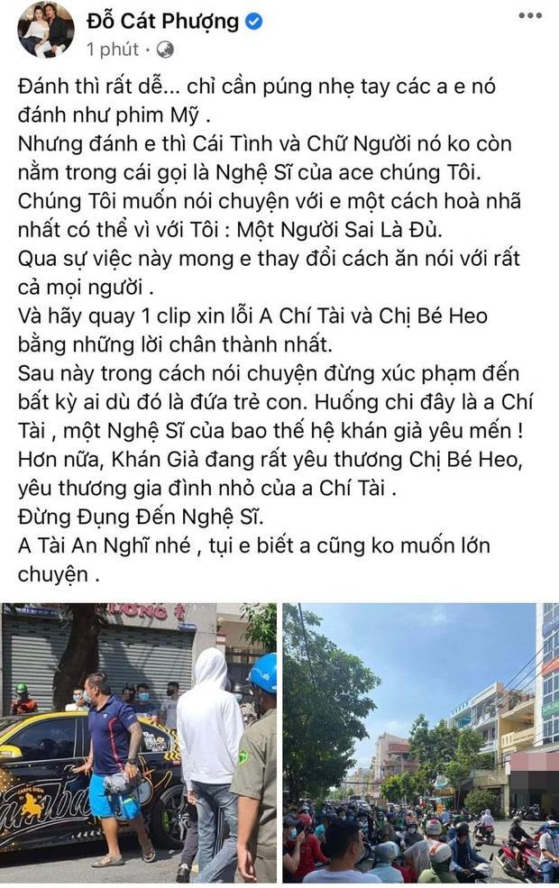 HOT: Ngô Kiến Huy, Huỳnh Phương gặp gymer xúc phạm vợ nghệ sĩ Chí Tài-9
