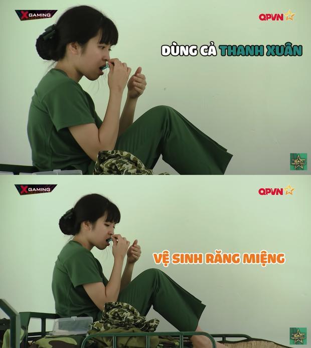 Nhan sắc thật của Khánh Vân bị phơi bày ở Sao Nhập Ngũ-7