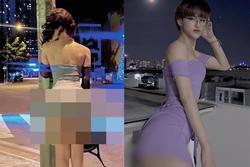 Hiện tượng mạng Trần Đức Bo uốn éo, tạo dáng lộ vòng 3 cực phản cảm giữa đường