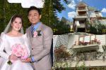 Biệt thự sang chảnh ngập sắc hoa của Quý Bình và vợ đại gia
