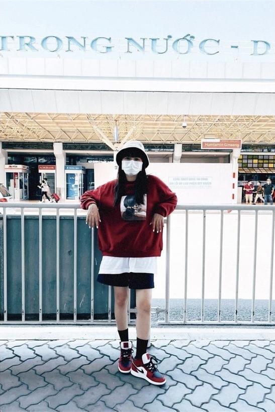 Loạt ảnh toàn thân để lộ rõ chiều cao 1m55 của Hòa Minzy-5