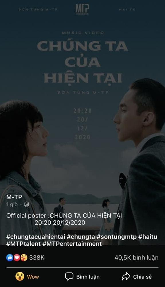 Sơn Tùng M-TP đăng poster cùng Hải Tú, Sky đồng loạt mách Thiều Bảo Trâm-2