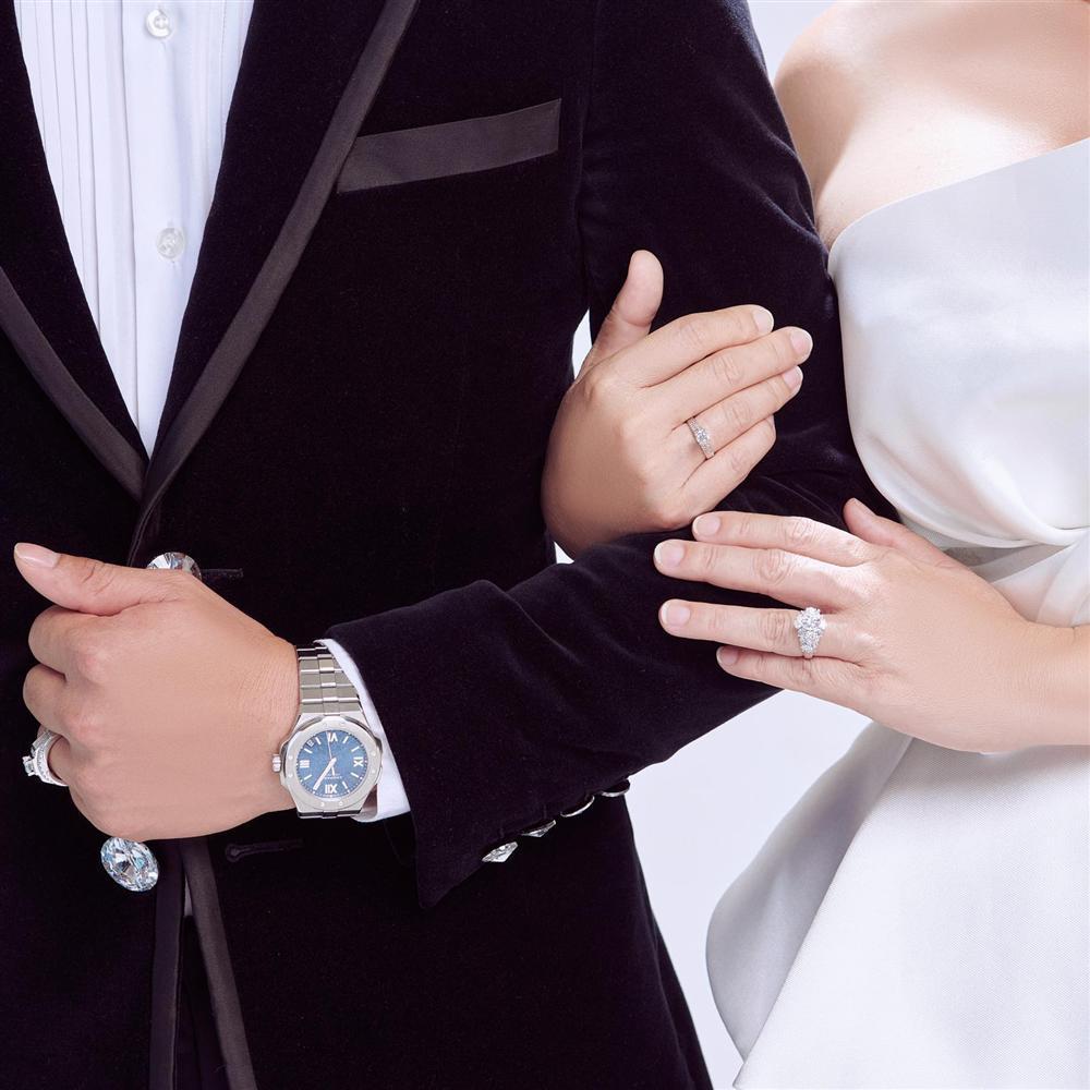 Vợ đại gia hé lộ ảnh cưới studio nét căng với Quý Bình-2