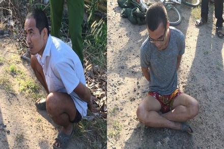 Bắt 2 phạm nhân trốn trại giam Cây Cầy