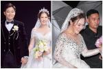 Cô dâu 7X của Quý Bình bị soi nhan sắc ngoài đời khác xa ảnh cưới