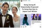 Song Hye Kyo bất ngờ nhớ về chuyện cũ, đặc biệt là đúng thời điểm khi vừa ly hôn Song Joong Ki