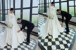 MC Hoàng Linh khoe chụp ảnh cưới sau 5 năm chung nhà với quay phim VTV