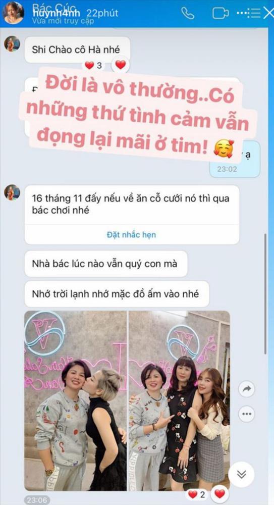 Huỳnh Anh tự tung tin nhắn hé lộ mối quan hệ hiện tại với mẹ Quang Hải-3