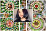 Tưởng tác phẩm nghệ thuật, hóa ra toàn đặc sản quê hương của gái đảm ở Nhật