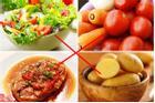 Những thực phẩm đại kỵ với cà chua nhiều người không biết, vẫn thường xuyên ăn