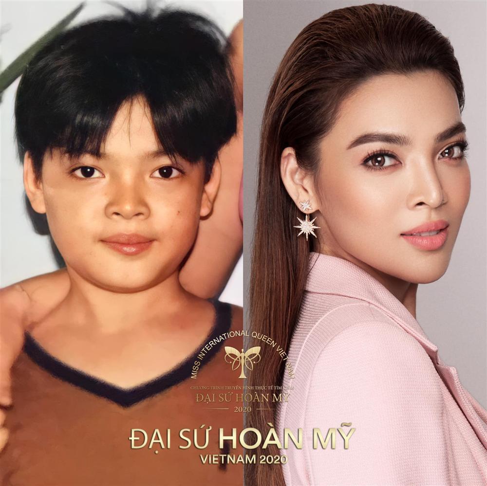 Lộ ảnh thời nam nhi của dàn thí sinh Hoa hậu Chuyển giới Việt Nam 2020-11