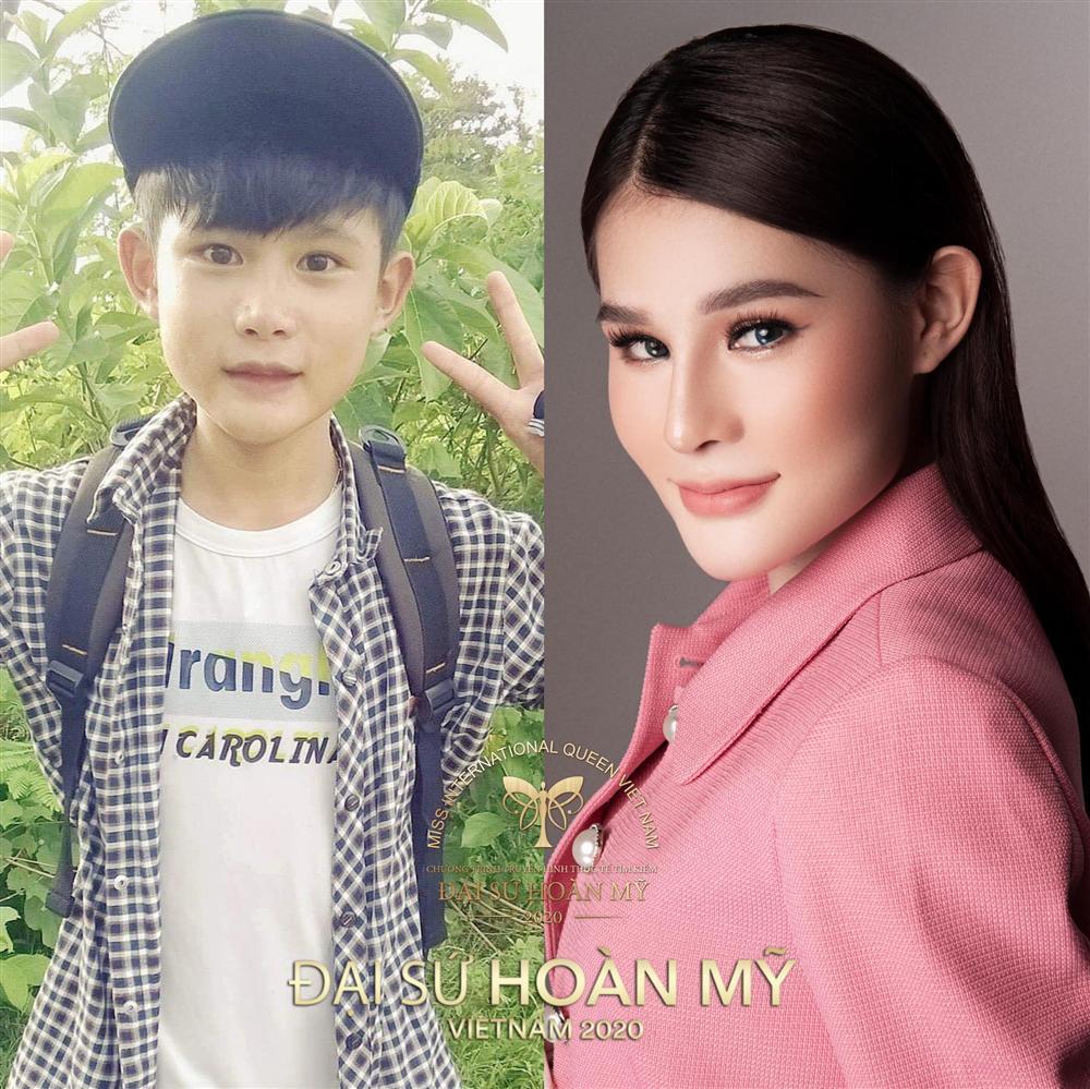 Lộ ảnh thời nam nhi của dàn thí sinh Hoa hậu Chuyển giới Việt Nam 2020-12