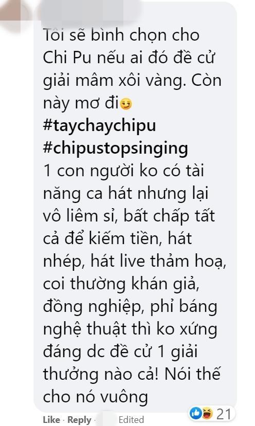 Chi Pu và Ninh Dương Lan Ngọc bị antifan đòi tẩy chay trên fanpage giải thưởng Ngôi sao xanh-5