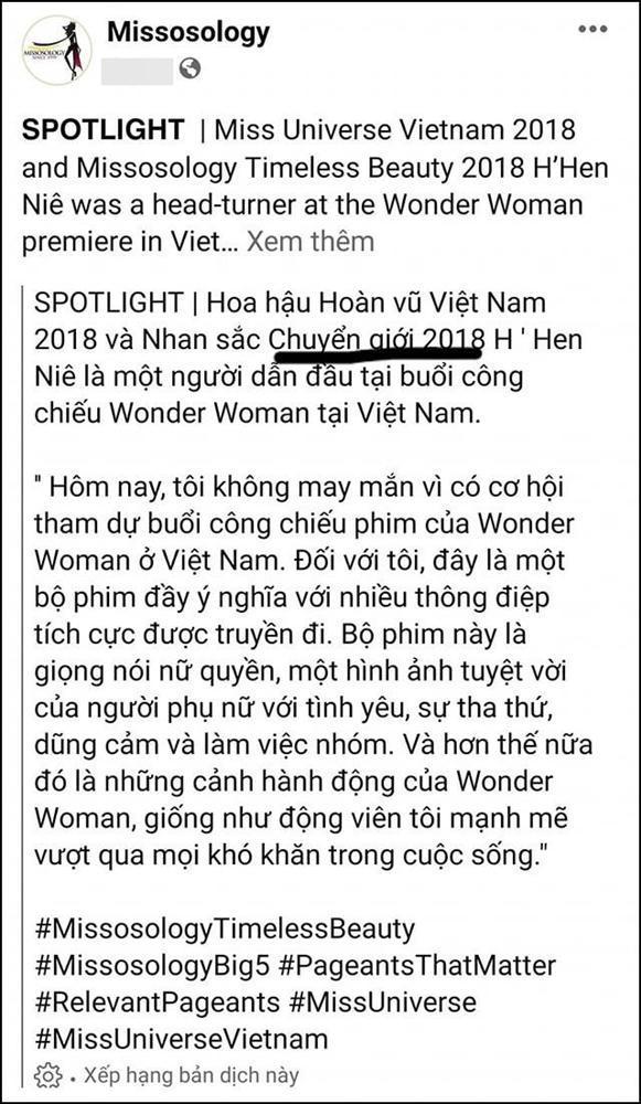 NHẦM LẪN TAI HẠI: HHen Niê bị gọi là người chuyển giới-4