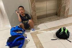 Cậu bé 8 tuổi vác 3 balo, mang 49 quyển truyện bỏ nhà đi vì bị mẹ mắng, gọi bố gặp lần cuối