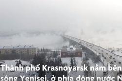 Thành phố ở Nga lạnh âm 30 độ C