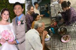 Cô dâu 7X của Quý Bình gây bất ngờ với hình ảnh về quê thăm bố mẹ chồng