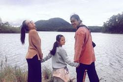 Vợ cũ Lâm Vinh Hải khoe ảnh bên con gái và tình mới, công khai gọi 'gia đình'