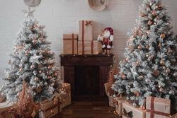 Quán cà phê ở TP.HCM trang hoàng dịp Giáng sinh