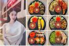 9x xinh đẹp khoe thực đơn ăn kiêng đẹp mắt, không thua kém gì nhà hàng sang trọng