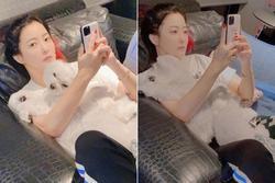 Nhan sắc của Kim Hee Sun ở tuổi 43
