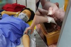 Lời khai người mẹ 18 tuổi đẻ rơi trong nhà vệ sinh bệnh viện: Không biết mình có thai, vứt con vào thùng rác vì... hoảng?