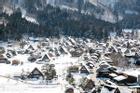 Tuyết dày 180 cm bao phủ ngôi làng ở Nhật