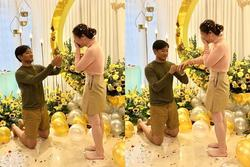 Hé lộ khoảnh khắc Quý Bình cầu hôn nữ đại gia 7X